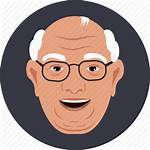Icon Glasses Icons Father Grand Flat User