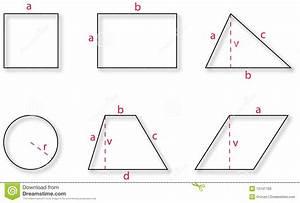Geometrische Formen Berechnen : grundlegende geometrische formen stock abbildung bild 12141766 ~ Themetempest.com Abrechnung