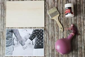 Bild Auf Holz Bertragen DIY Tutorial Kathastrophal