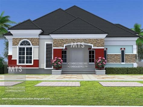 Bungalow House Designs In Nigeria House Floor Plans