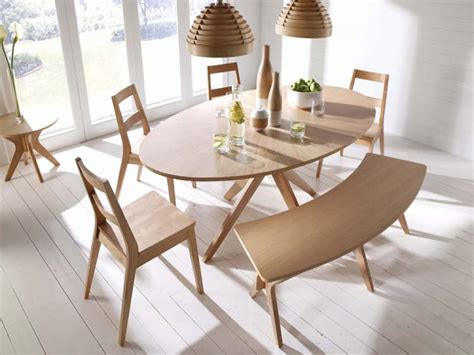 Malmo Oval White Solid Oak Veneer Dining Table  Free Delivery