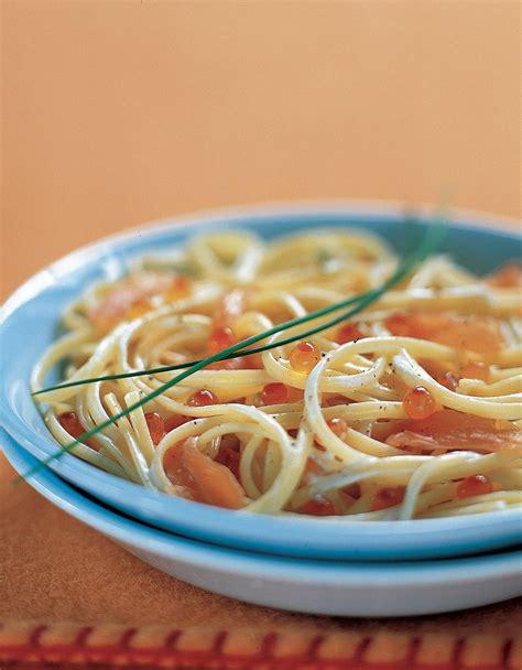 raifort cuisine tagliatelles au raifort et aux deux saumons pour 4