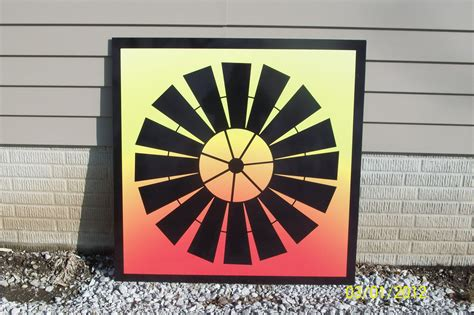 Free Barn Quilt Patterns by Boy Was I Inconsiderate Prairie Sign