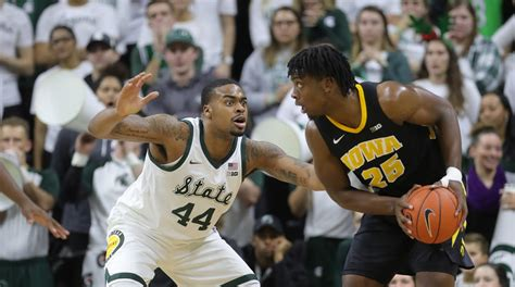michigan state basketball  iowa scouting report prediction