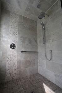 River Rock Tiles Bathroom Modern With Artistic Tile