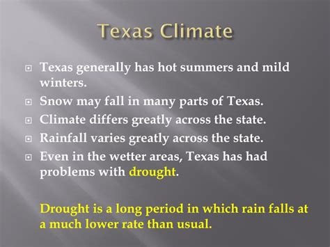 Ppt The Four Regions Of Texas Powerpoint Presentation