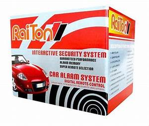 Jual Alarm Mobil Raiton  Tahan Lama Tidak Gampang Error Di Lapak Aut0 Autoplus158