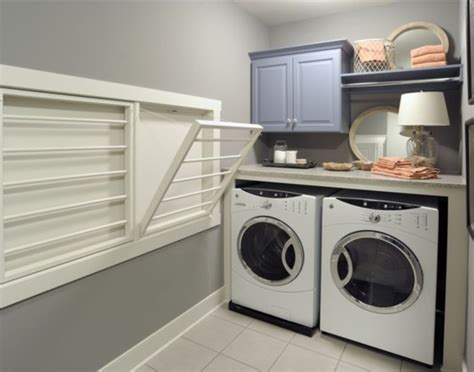 laundry room drying rack l shaped laundry cabinet with sink also grey acrylic top
