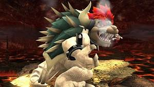 Dry Bowser Revised Super Smash Bros For Wii U Gt Skins