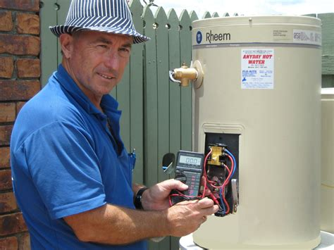 Hot Water Element And Thermostat Repairs  Brisbane Gold