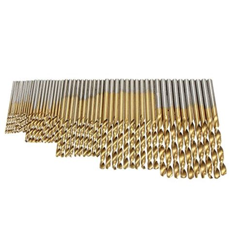 drill yakamoz coated titanium 50pcs bit speed steel bits 0mm tool