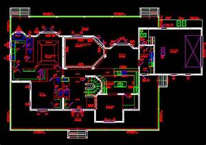 Autocad House Drawing At Getdrawings Com