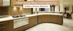 7 best designing ideas from expert for indian home kitchen for Interior design kitchen in pune