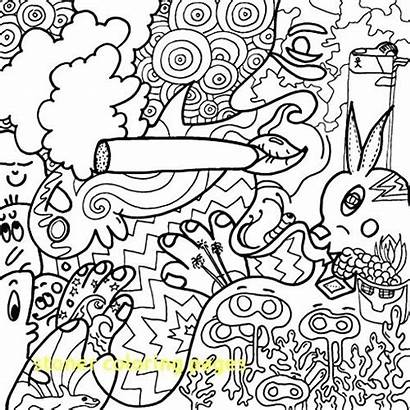 Coloring Stoner Pages Printable Getdrawings Drawing Adults