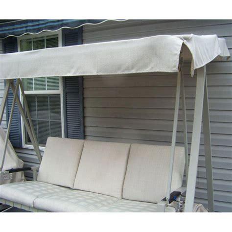 kmart martha stewart victoria swing replacement canopy   garden winds