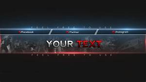 gaming youtube banner template by 113micou on deviantart With cool youtube channel art templates