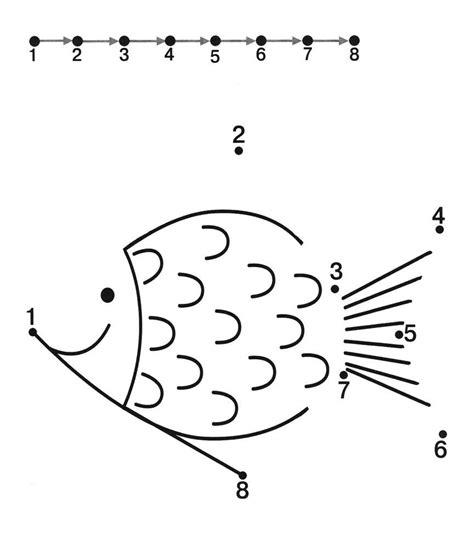 fish dot to dot worksheets 7 free dot to dot