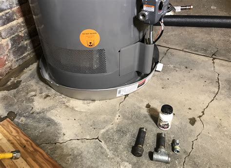 How To Replace A Water Heater And Add An Expansion Tank