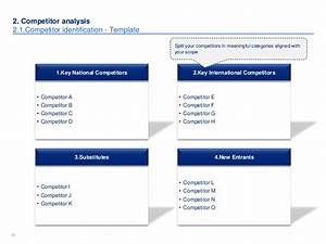 Cd Case Insert Template Word Market Competitor Analysis Template In Ppt