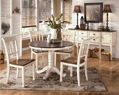 two tone kitchen table two tone table with pedestal base by signature