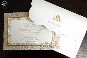 lela new york luxury wedding invitations With luxury wedding invitations companies