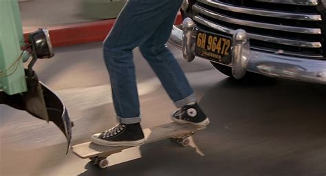 converse shoes worn  michael  fox marty mcfly