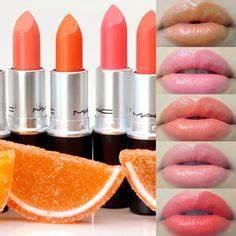 YSL Rouge Volupte Shine Lipstick Orange Impertinent 16 lip