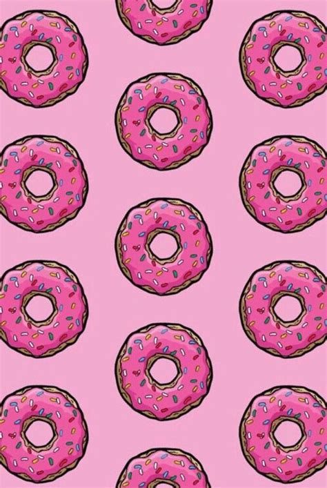 See more ideas about iphone wallpaper, cute wallpapers, iphone background. Simpsons donut | Iphone background