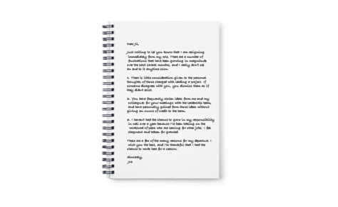 writing a resignation letter unique writing a resignation letter cover letter exles 28809