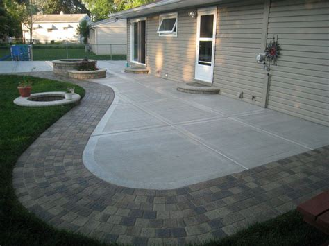 Cement Patio by Concrete Patio Designs Concrete Patio Ideas And Pictures