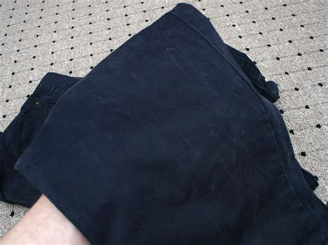 remove shiny seat marks  trousers  steps