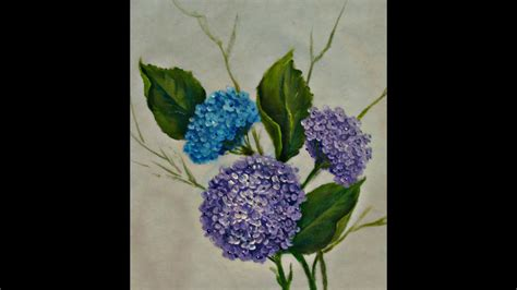 pintando hortensias embalagem personalizada youtube