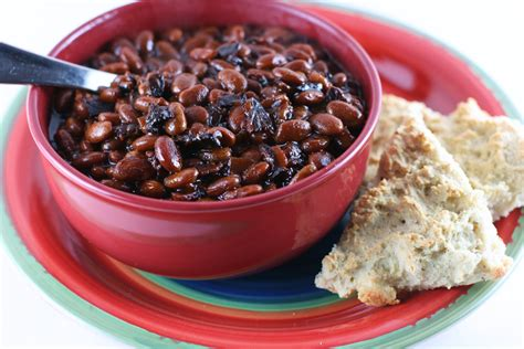 cooker baked beans slow cooker bourbon baked beans a year of slow cooking