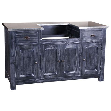 meuble cuisine avec évier intégré meuble de cuisine avec évier intégré 4 portes et 2