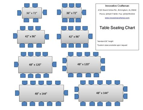 table sizes  seating google search home stuff