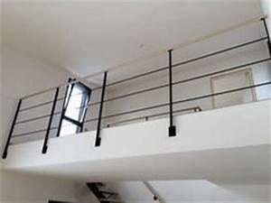 Garde Corps à Faire Soi Même : garde corps d 39 ext rieur en m tal panneaux en verre ~ Premium-room.com Idées de Décoration