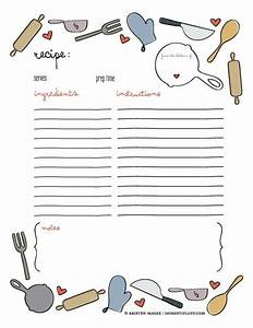 best 25 recipe templates ideas on pinterest recipe With free online cookbook template