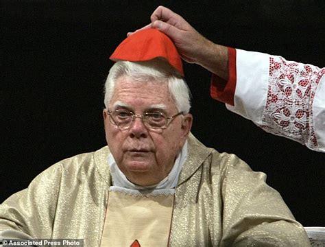 cardinal bernard law dies aged   rome daily mail