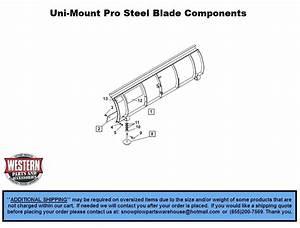 Uni-mount Snowplows