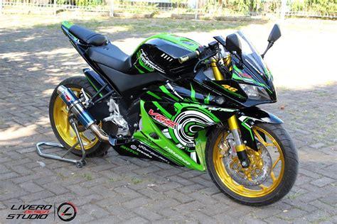 Stiker Motor Vixion Keren by 10 Gambar Modifikasi Yamaha Vixion Variasi Keren Banget