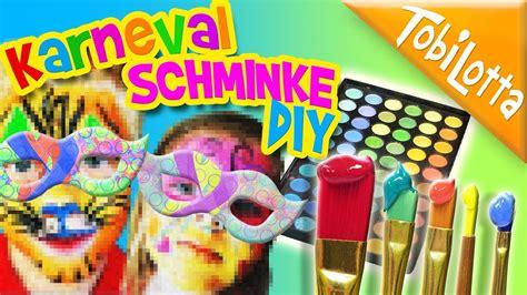 schminke selber machen diy schminke selber machen kinder fasnacht diy fashing karneval kinderfilme kinderkanal 57