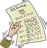 nervous resume