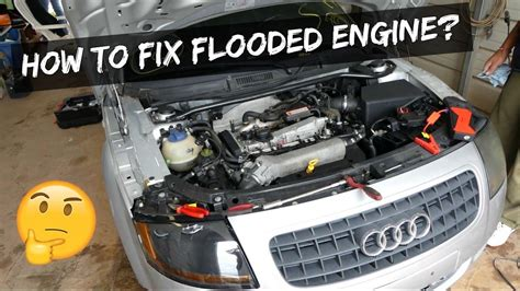 start  flooded engine  professional tips car