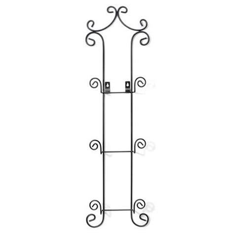 black metal wire  tier wall plate rack holder
