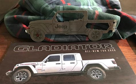 jeep gladiator promotional brochure includes cool