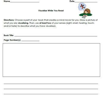 visualizing third grade reading visual