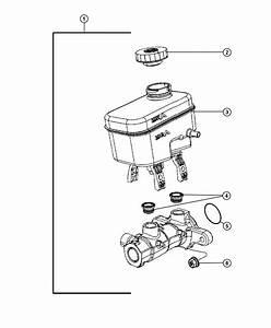 Dodge Nitro Switch  Brake Fluid Level