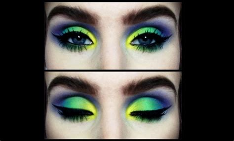 colorful makeup colorful rainbow inspired makeup tutorial