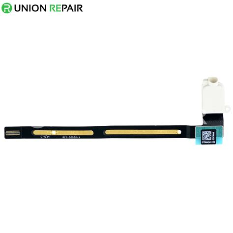 replacement  ipad air  wifi version audio earphone jack flex cable white
