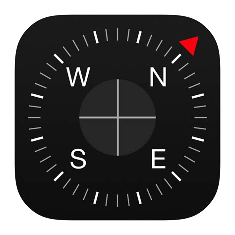 compass app for iphone compass icon ios7 style iconset iynque